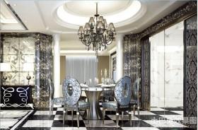 餐厅全抛釉瓷砖效果图欣赏