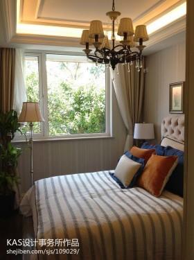 卧室吊顶灯效果图图片欣赏