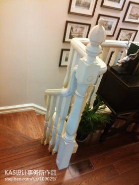 别墅楼梯扶手图片