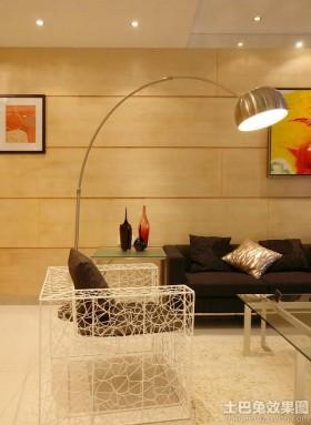 现代风格客厅落地灯效果图