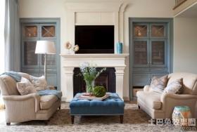 客厅欧式壁炉图片欣赏