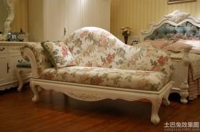 卧室欧式贵妃椅图片