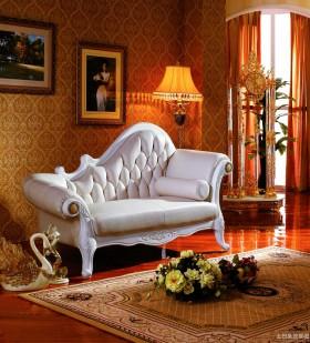 客厅欧式贵妃椅图片