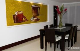 餐厅室内装饰壁画图片