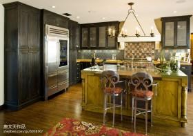 开放式厨房吧台装修效果图大全图片