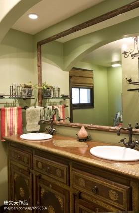 2013卫生间洗脸盆柜组合图片