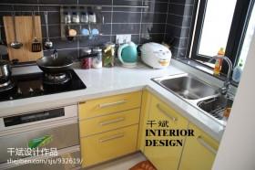 简约风格厨房台面装饰效果图
