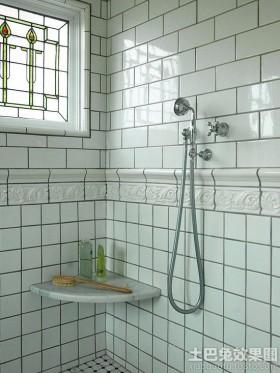 欧式卫生间釉面内墙砖图片