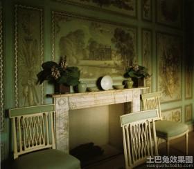 别墅客厅手绘墙壁画图案大全