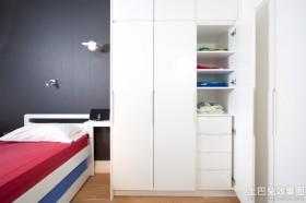 小型卧室壁柜装修效果图