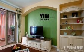 客厅电视壁柜装修效果图