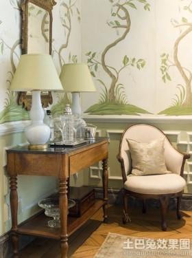 室内手绘涂鸦墙壁纸图片