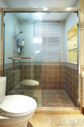 卫生间瓷砖墙裙效果图片