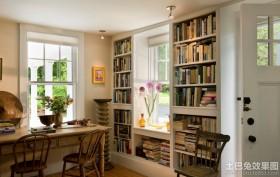 书房家用书柜图片大全