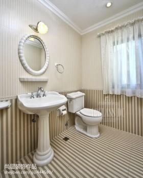 欧式风格卫生间洗手台装修效果图大全2016图片