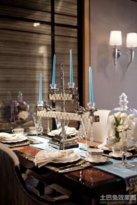 餐厅灯具装饰效果图片大全
