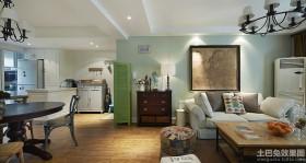 美式风格客厅沙发装修效果图片