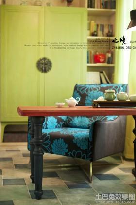 客厅单人休闲沙发图片