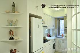 家装小厨房装修效果图欣赏
