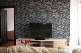 现代风格电视墙墙纸贴图图片