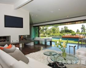 现代别墅客厅设计效果图