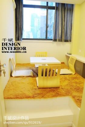 现代风格室内榻榻米装修效果图