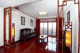 中式小户型客厅装修效果图欣赏