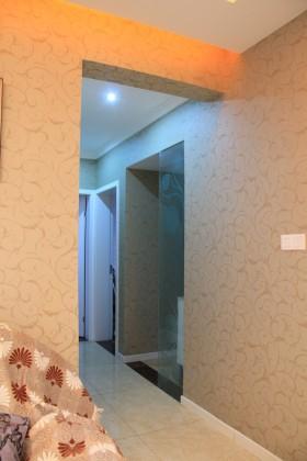 卧室过道壁纸图片