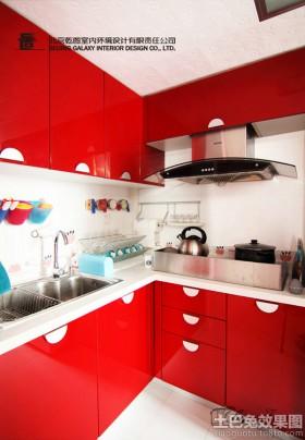 2013最新现代风格厨房橱柜效果图