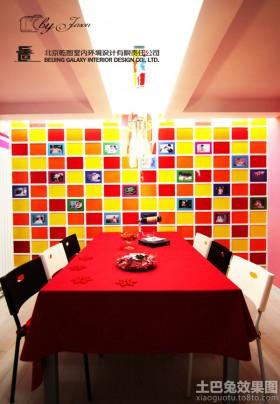 家装餐厅背景墙装修效果图欣赏