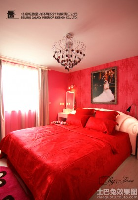 新婚现代风格卧室装修效果图