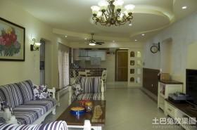 小户型客厅吊顶灯装修效果图欣赏