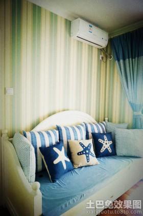 地中海风格沙发抱枕图片