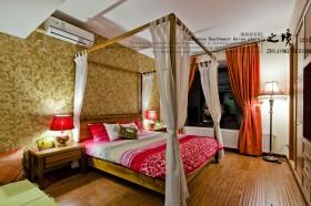 东南亚风格卧室装修效果图大全