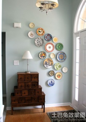 创意家居墙面装饰品效果图