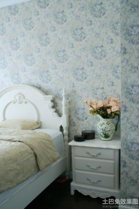 卧室床头精美壁纸图片欣赏