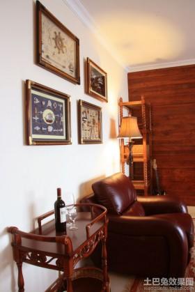 客厅沙发挂画墙装饰效果图欣赏