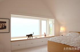 卧室大飘窗装修效果图欣赏