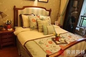 美式田园小卧室装修效果图