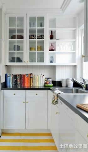 厨房玻璃柜设计图