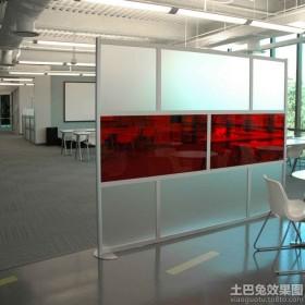 现代时尚办公家具屏风图片