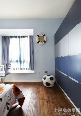 地中海风格男儿童房装修效果图