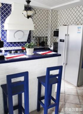 地中海风格厨房灯具设计