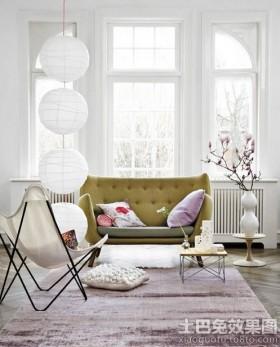 北欧小户型客厅沙发图片大全
