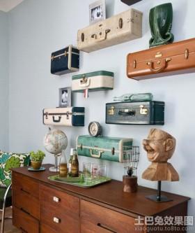 客厅创意置物架图片