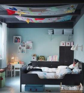 现代儿童房样板间装修效果图