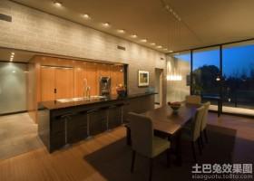 别墅厨房壁柜图片