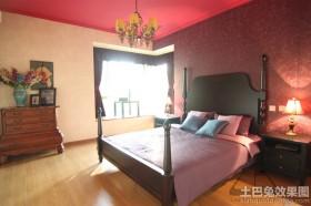 东南亚风格装修15平米卧室效果图