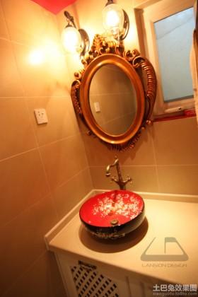 东南亚风格卫生间镜子图片