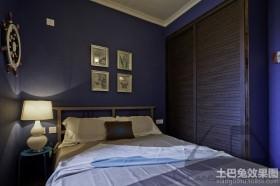 卧室床头挂画装修效果图大全